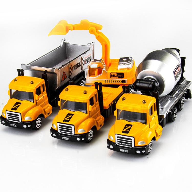 Xe mô hình bằng hợp kim mô phỏng các loại xe chức năng