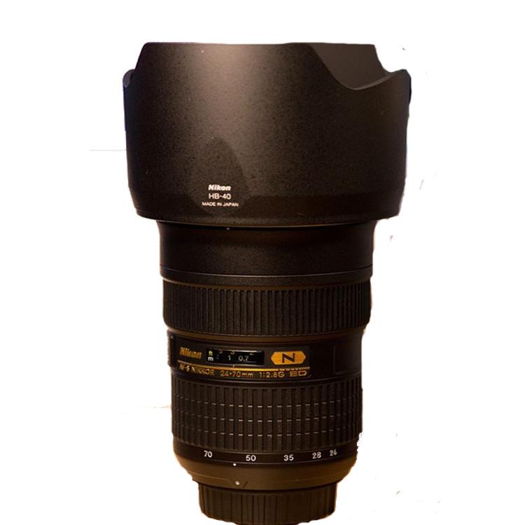 Máy ảnh phản xạ ống kính đơn / Máy ảnh SLR  Nikon AF-S full frame Nikkor 24-70mm anti shake f/2.8G