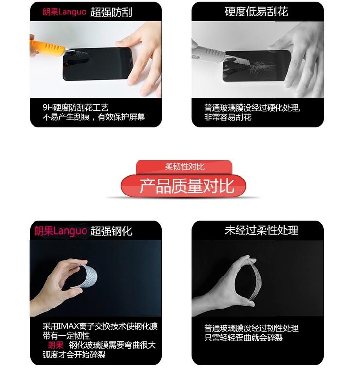 Miếng dán màn hình Iphone 6  Iphone6s plus tempered glass film Apple 7plus film iphone7plus mobile