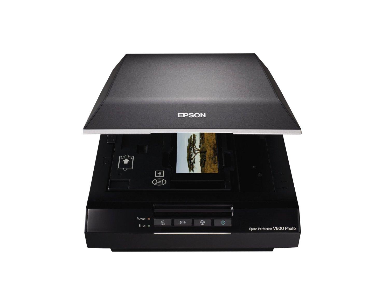 Máy scan    Epson Epson Perfection V 600 bức ảnh độ phân giải cao 6400 máy quét X 9600 DPI