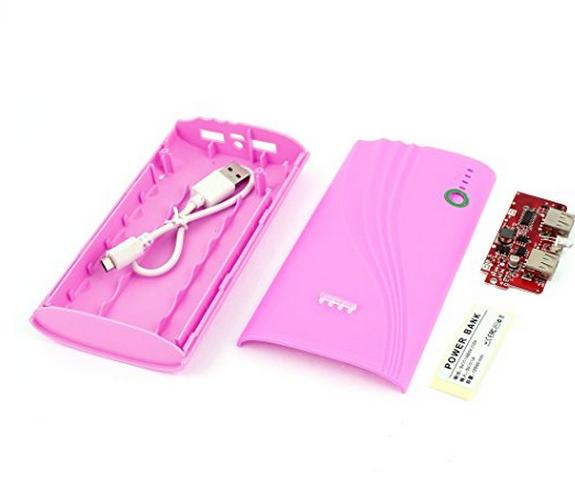 Hộp hồng ngoại USB 5V 1A Ngân hàng Điện 6x 18650 Bộ sạc pin Tự làm Hộp Hộp