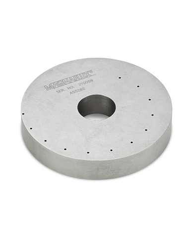 Tool steel ring test block