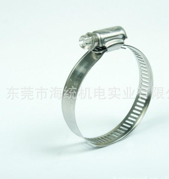 Đai kẹp(đai ôm)  HT stainless steel American hose clamp, clamp, hoop, 304 #, 201 # stainless steel h