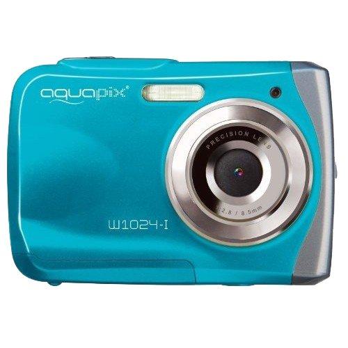 Máy ảnh kỹ thuật số  Easypix w1024-i vẩy máy ảnh kỹ thuật số - băng xanh (10MP cảm biến, gấp 4 lần