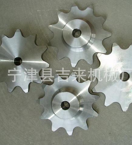 Bánh răng  Ningjin stainless steel sprocket manufacturer complete specifications machine chain chai