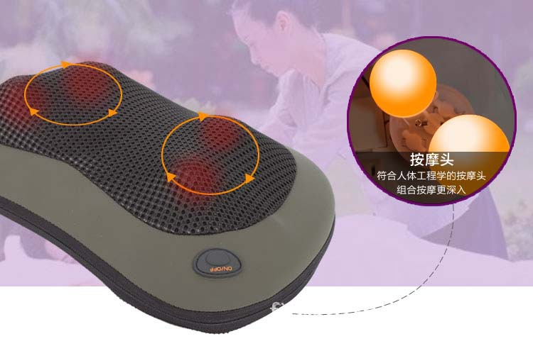 Máy massage   Multifunctional massage pillow pillow Leg Massager Massage waist Shoulder Massager ve