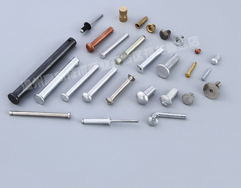 Rivets manufacturers wholesale supply signs pin non-standard rivets customized pairs of knock on the