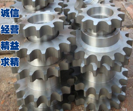 Bánh răng  Stainless steel gear sprocket A variety of wear resistance strong chain wheel industrial