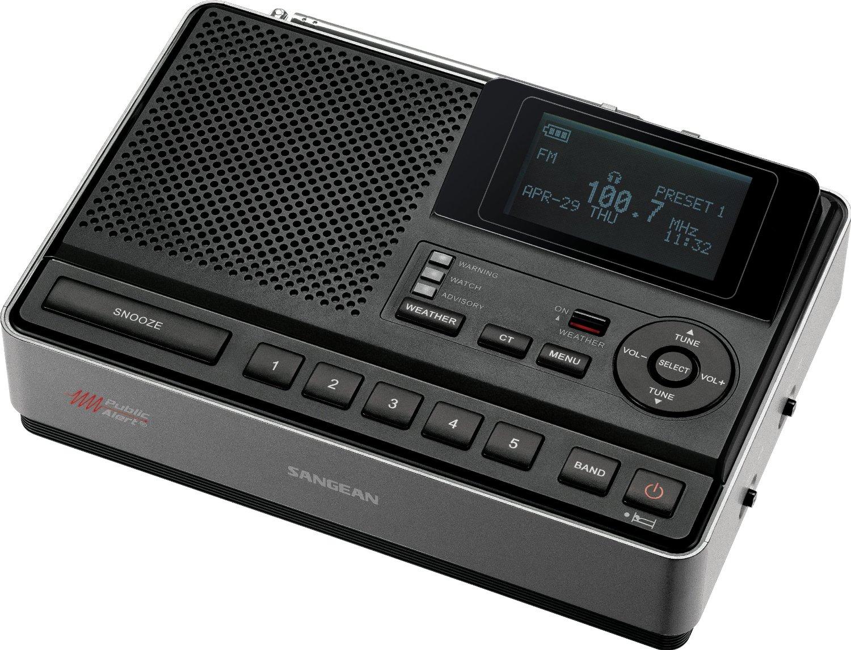 Máy Radio   Núi vào màn hình thời tiết thiên tai CL-100 AM / fm-rbds radio báo động báo động