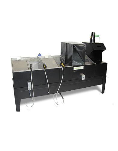 ZA-1227 water washing compact penetration testing equipment