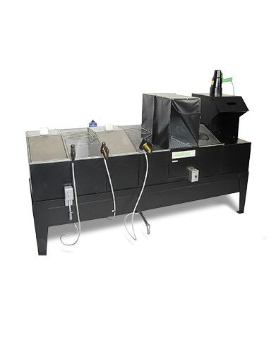 ZA-1227 standardized washing type fluorescent penetrant testing equipment