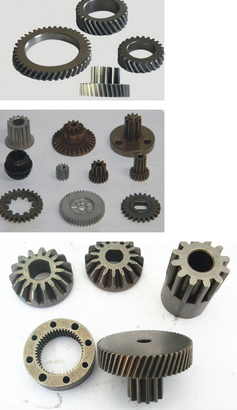 Bánh răng  Supply of powder metallurgy bevel gear lock parts structural parts