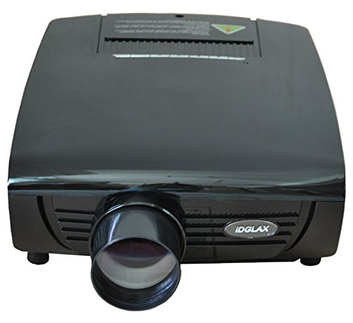 Máy chiếu  Kỹ thuật số HDMI Ngân Hà của 720p video độ nét cao, 2800lumens, 5 inch TFT cạnh bảng điề