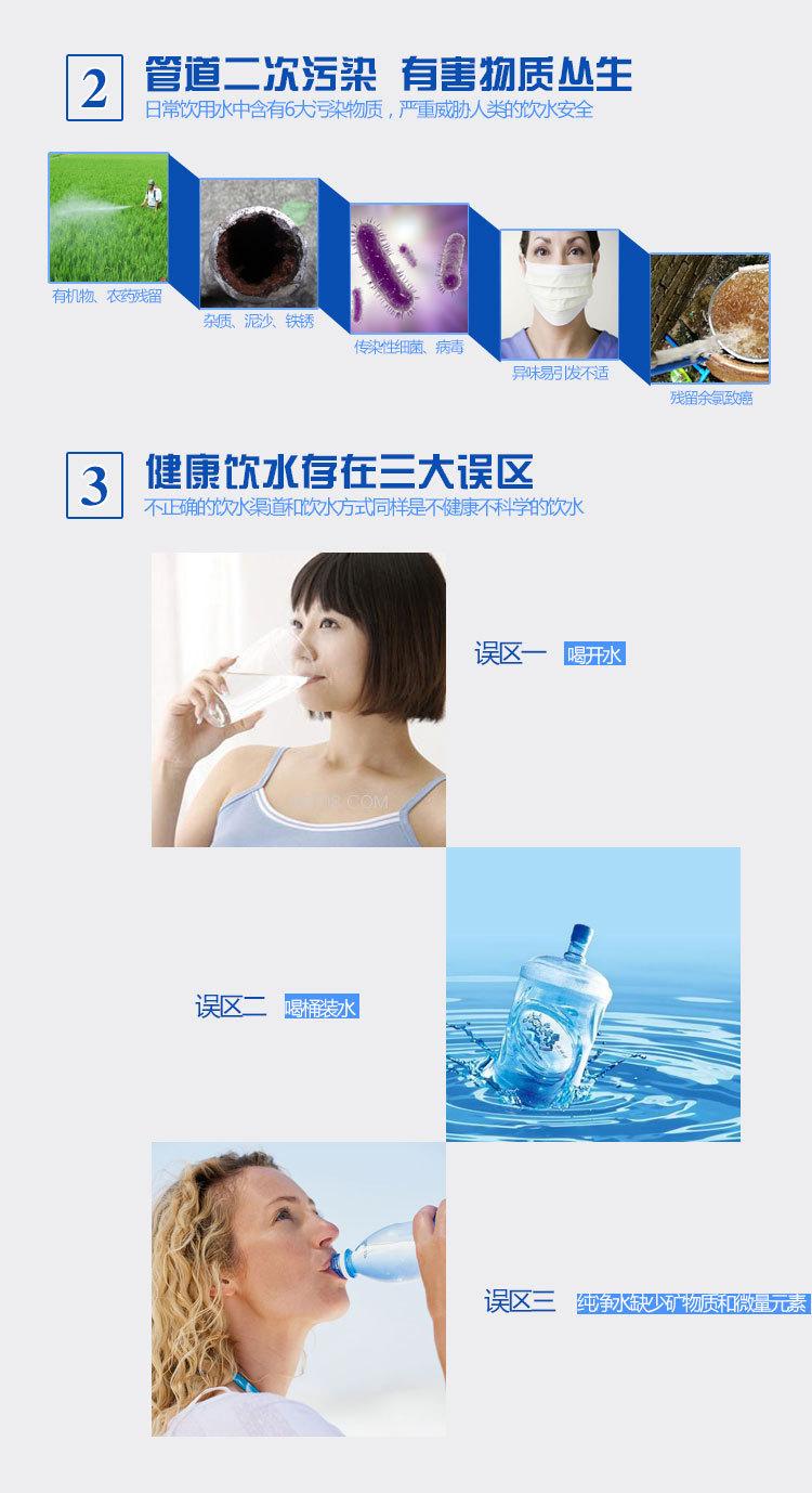 Điện gia dụng mùa hè  Guangzhou manufacturers to produce household desktop straight water purifier