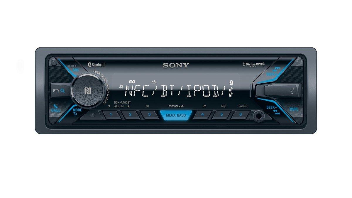 Máy Radio   Sony dsxa405bt Digital Media máy thu phát sóng Bluetooth và vệ tinh.