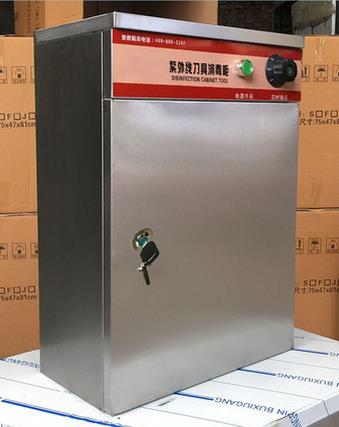 Manufacturers selling thick stainless steel tool uses ultraviolet light disinfection cabinet box wit
