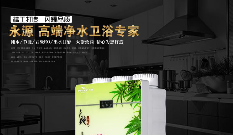 RO reverse osmosis water purifier wholesale electric steamer kitchen drinking water purification mac