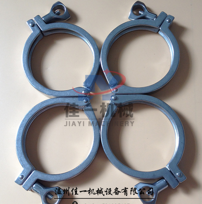 Đai kẹp(đai ôm) [Casting clamps] good a factory direct sales of stainless steel clamp (hoop) pipe fi