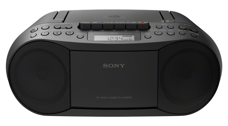 Máy Radio   Sony cfds70blk CD / Nhà máy không có chức năng thu băng audio Broadcasting, Blake.