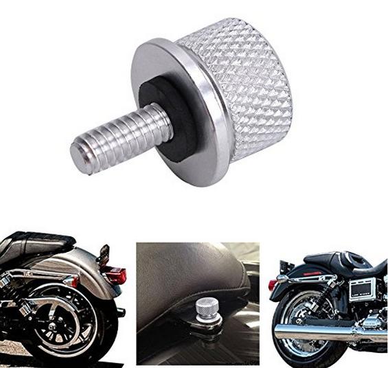 Bu-lông Sliver Seat Bolt Thép Không gỉ Phù hợp cho Harley Davidson