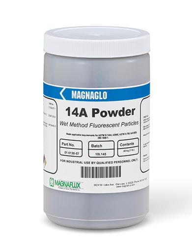 MAGNAGLO 14AFluorescent magnetic powder
