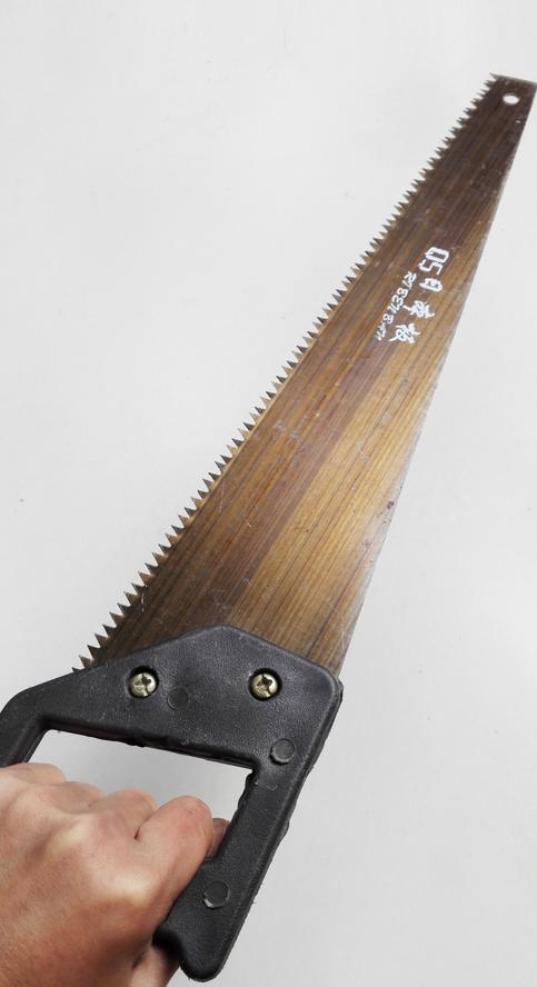 cưa Xingde Shun plastic handle 450 grinding teeth hand saws multi - functional wood saws factory dir