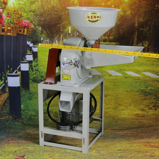 23 small multi-functional corn feed grinder home three seven Chinese medicine food processing machin