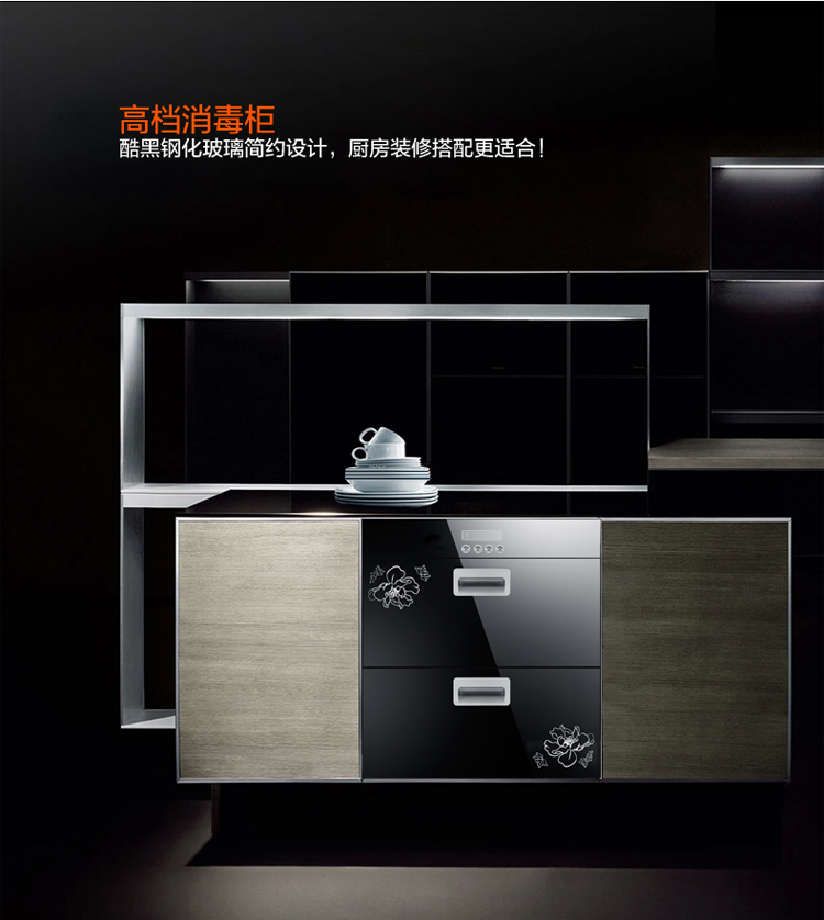 Tủ khử trùng  High temperature sterilizing cabinet genuine special offer embedded vertical domestic