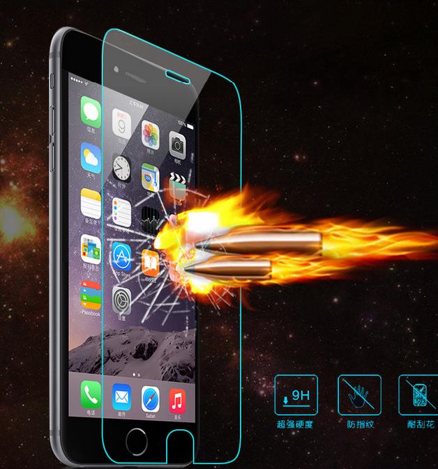Iphone6 tempered film iphone6 full screen covered glass film iphone6 full screen steel film wholesal