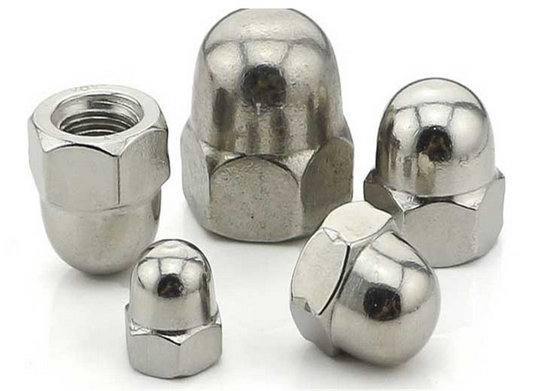 Tán Shenzhen factory direct 304 stainless steel cover nut round nut nut nut round nut