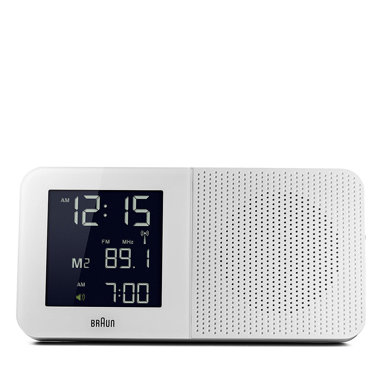 Máy Radio   Braun không dây đồng hồ báo thức