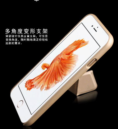 Ốp lưng Iphone 6   The new mobile phone shell plating ring bracket for Apple iphone6 iphone7 6S plu