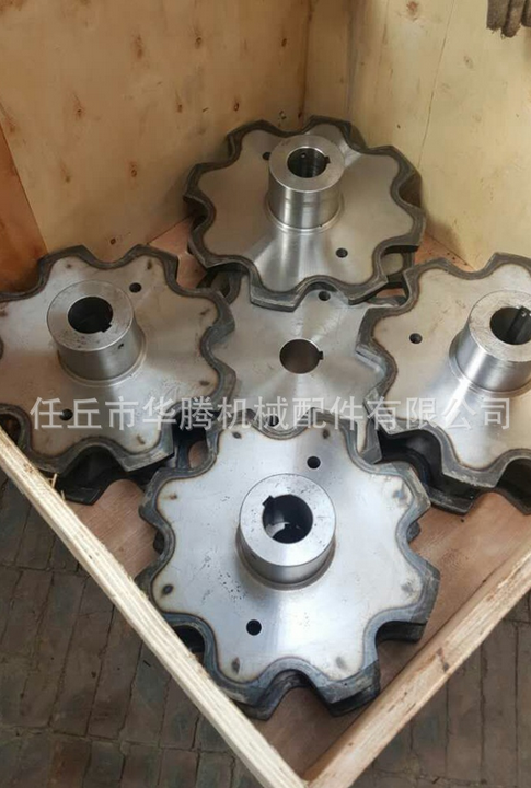 Hebei Renqi manufacturers supply standard non-standard belt sprocket gear industry double row sprock