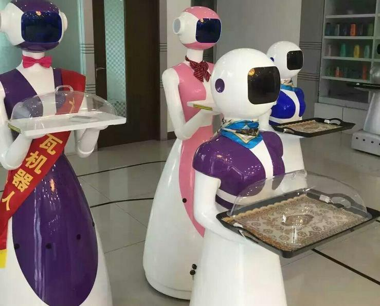 Máy rửa chén  Intelligent trackless food delivery robot direct manufacturers to ensure the quality