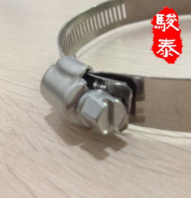 Đai kẹp(đai ôm)  304 stainless steel clamp stainless steel powerful hose clamp wire card hoop tube t
