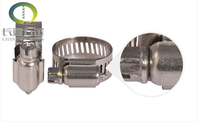 Đai kẹp(đai ôm)  Manufacturers of 201 stainless steel small American style hoop hoop hoop more speci