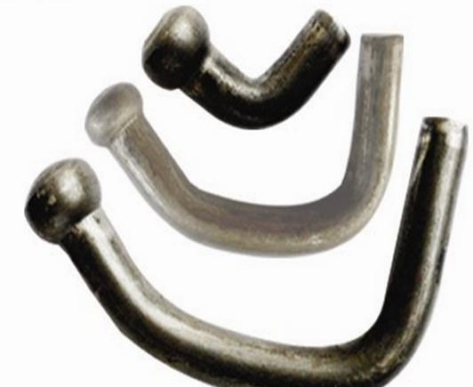 Đinh   Shelf galvanized semi-solid head solid rivets Q235 material iron rivet specifications M4 * 8