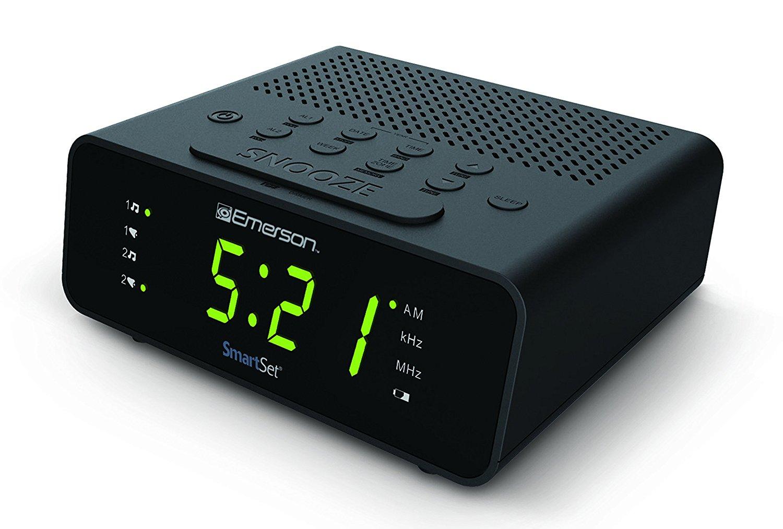 Emerson SmartSet radio báo động