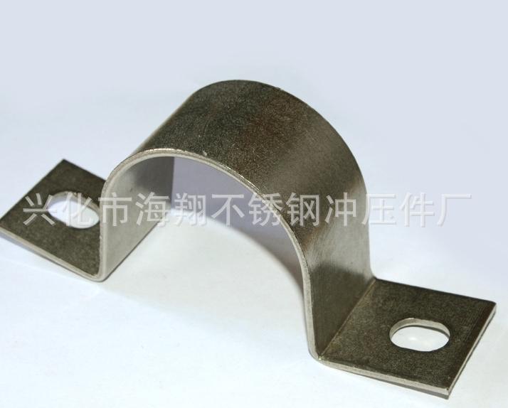 Hot-selling stainless steel clamp hoop dedicated stainless steel hoop stainless steel pipe hoop U-cl