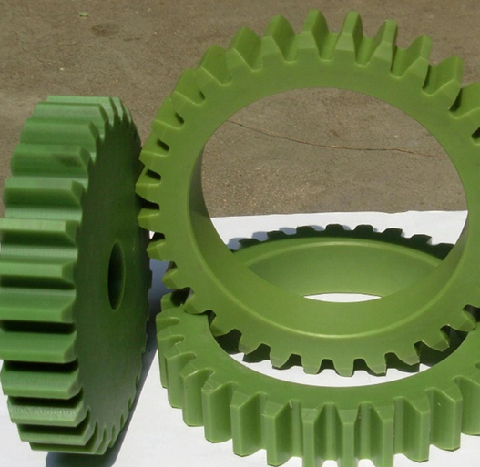 Bánh răng  Professional processing of nylon shaped gear, card board