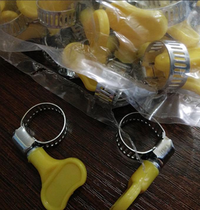 Đai kẹp(đai ôm)   Supply 13-19mm hose clamp plastic handle clamp small American style hoop tube clip