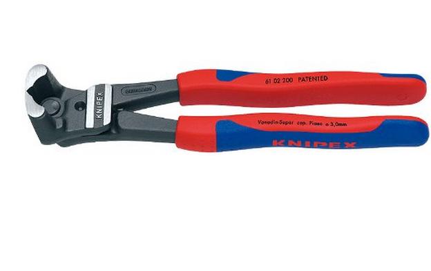 KNIPEX 61 02 200 Tay cắt Comfort Grip có công cụ kéo cao