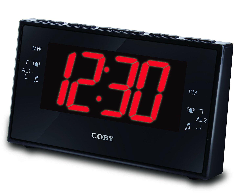 Máy Radio    Kobe cbcr-103-blj con số báo động, AM / FM radio và hai cảnh sát (đen)