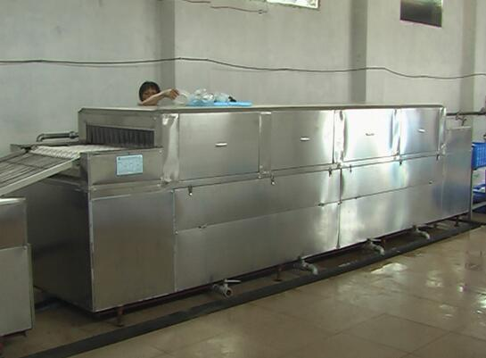 Máy rửa chén  Full automatic dishwasher, washing machine, caterpillar type large commercial dishwas