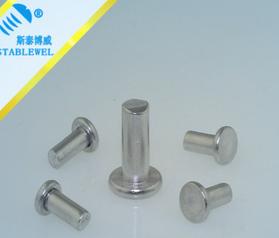 Factory direct GB109 flat head rivets aluminum rivets general professional production rivets Liu nai