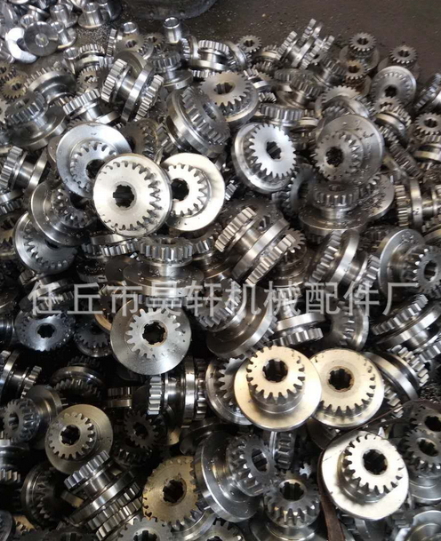 Processing custom all kinds of gear sprocket spline shaft gearbox assembly factory direct