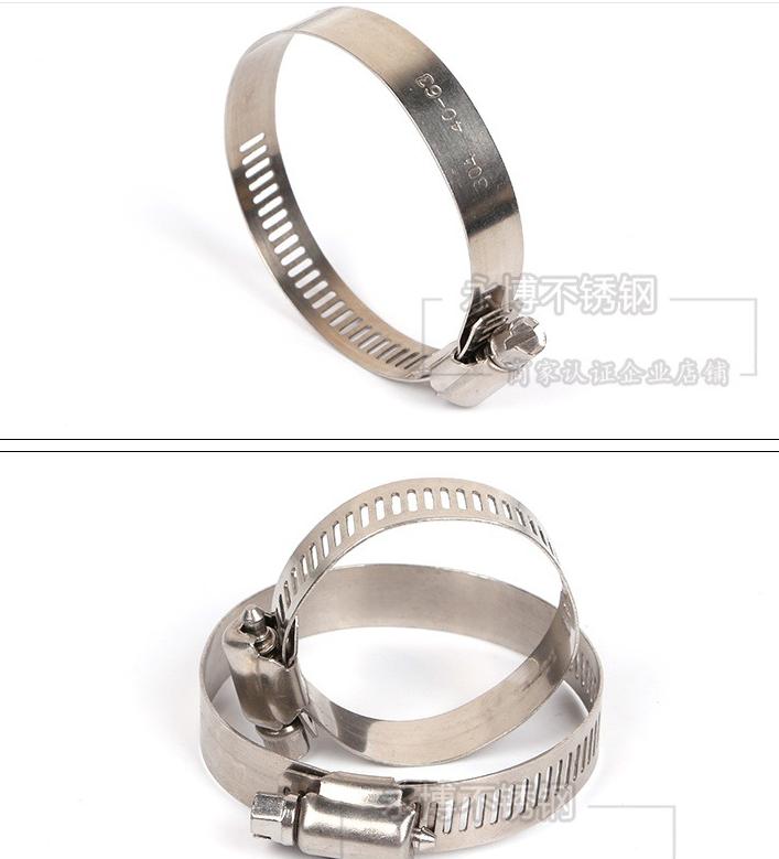 Đai kẹp(đai ôm)  Yong Bo manufacturing stainless steel 201/304 hose clamp hoop hoop hoop professiona