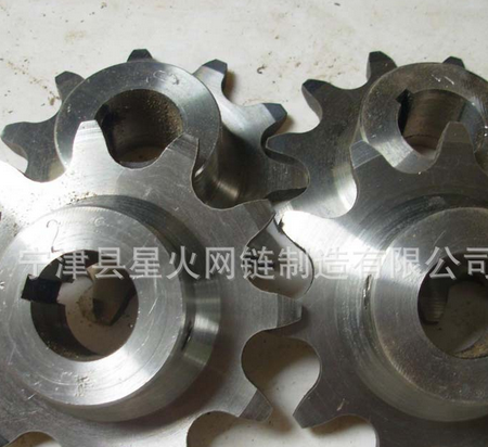 Wholesale sales 201 stainless steel double row sprocket stainless steel industrial sprocket gear Nin