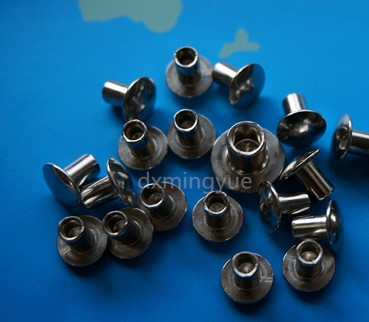 Stainless steel semi-hollow rivets 304GB873 line factory spot inventory to map to sample non-standar