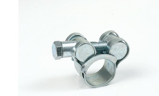 Đai kẹp(đai ôm)  17-19 European single-headed solid powerful hose clamp / double-headed ear ear clip